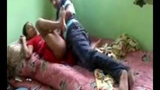 Indian Wife Enjoying Quick Sex with Lover