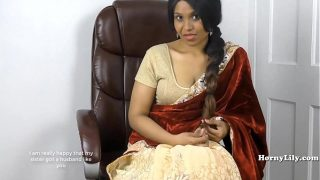 Horny South Indian Doing Role play Sex