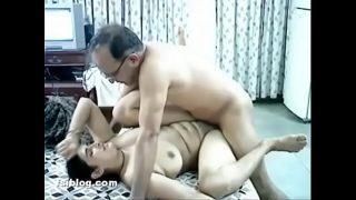 Bangla Aunty with her Husband Friend