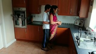 Married Bhabhi Alone with her Devar