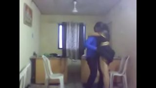 Indian Wife Fucking sex at Office with Boss