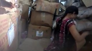 Desi College Couples Fucked in Warehouse